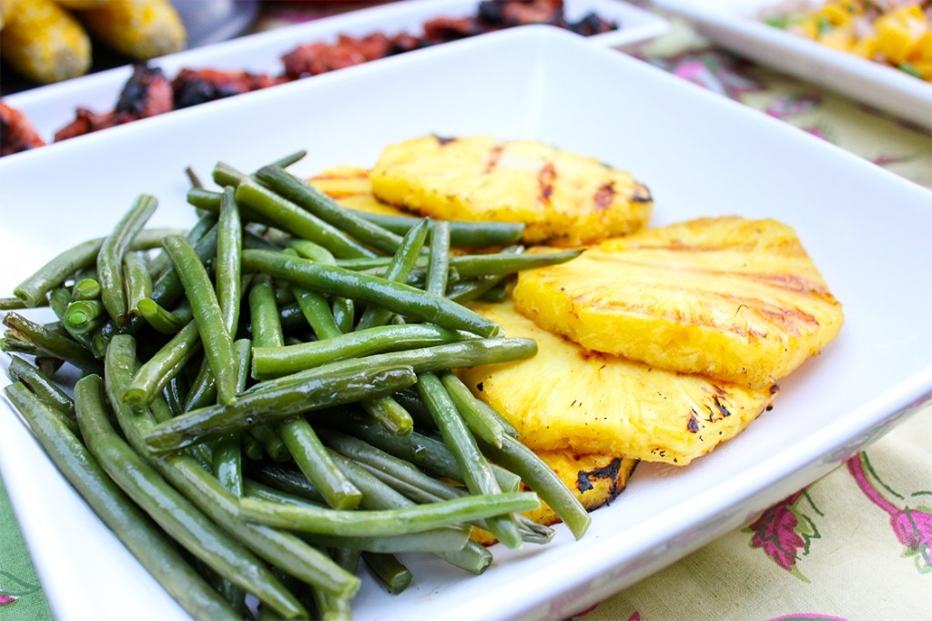 Style Bee - Green Beans and Pineapple