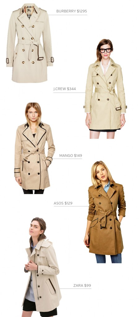 Style Bee - Trench Time - Options