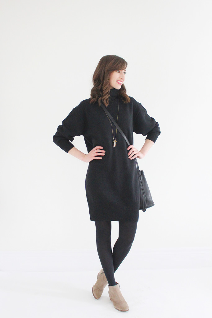 Look 03 - Winter - Sweater Dress