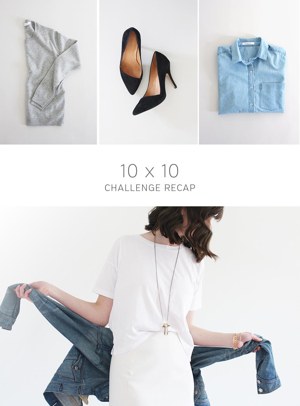 Style Bee - 10 x 10 Challenge Recap