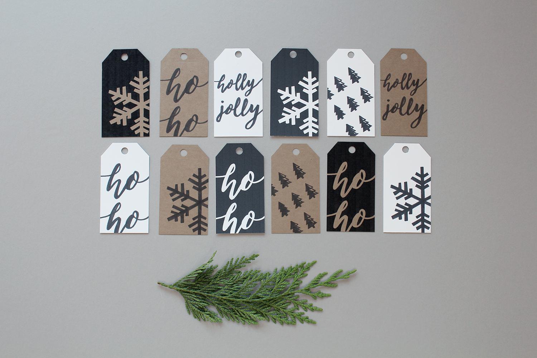 Style Bee + Blush - Printable Gift Tags