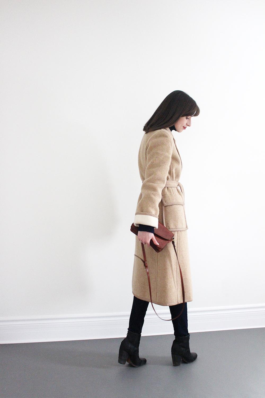 Style Bee - Camel Coat