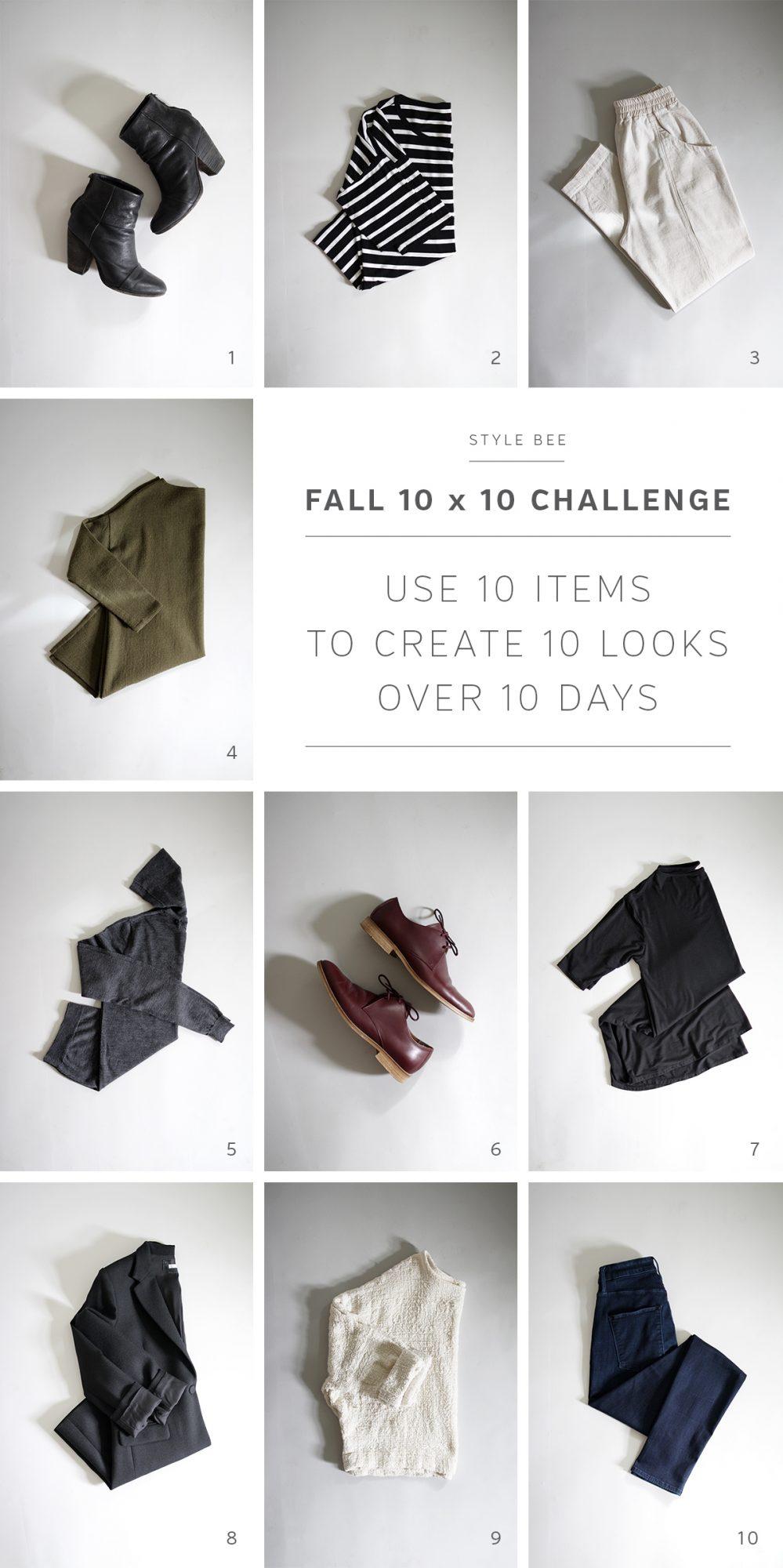 Style Bee - Fall 10 x 10 Challenge - 2016
