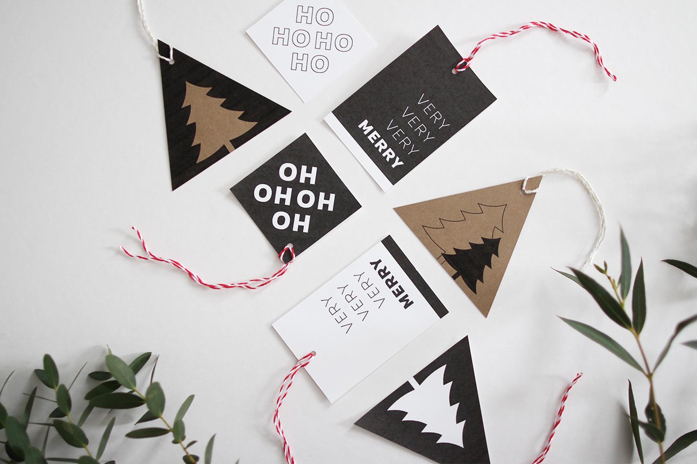 Style Bee - Printable Gift Tags