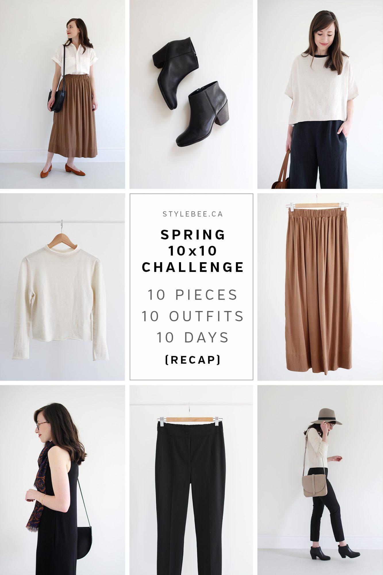Style Bee - Spring 10 x 10 Challenge - Recap