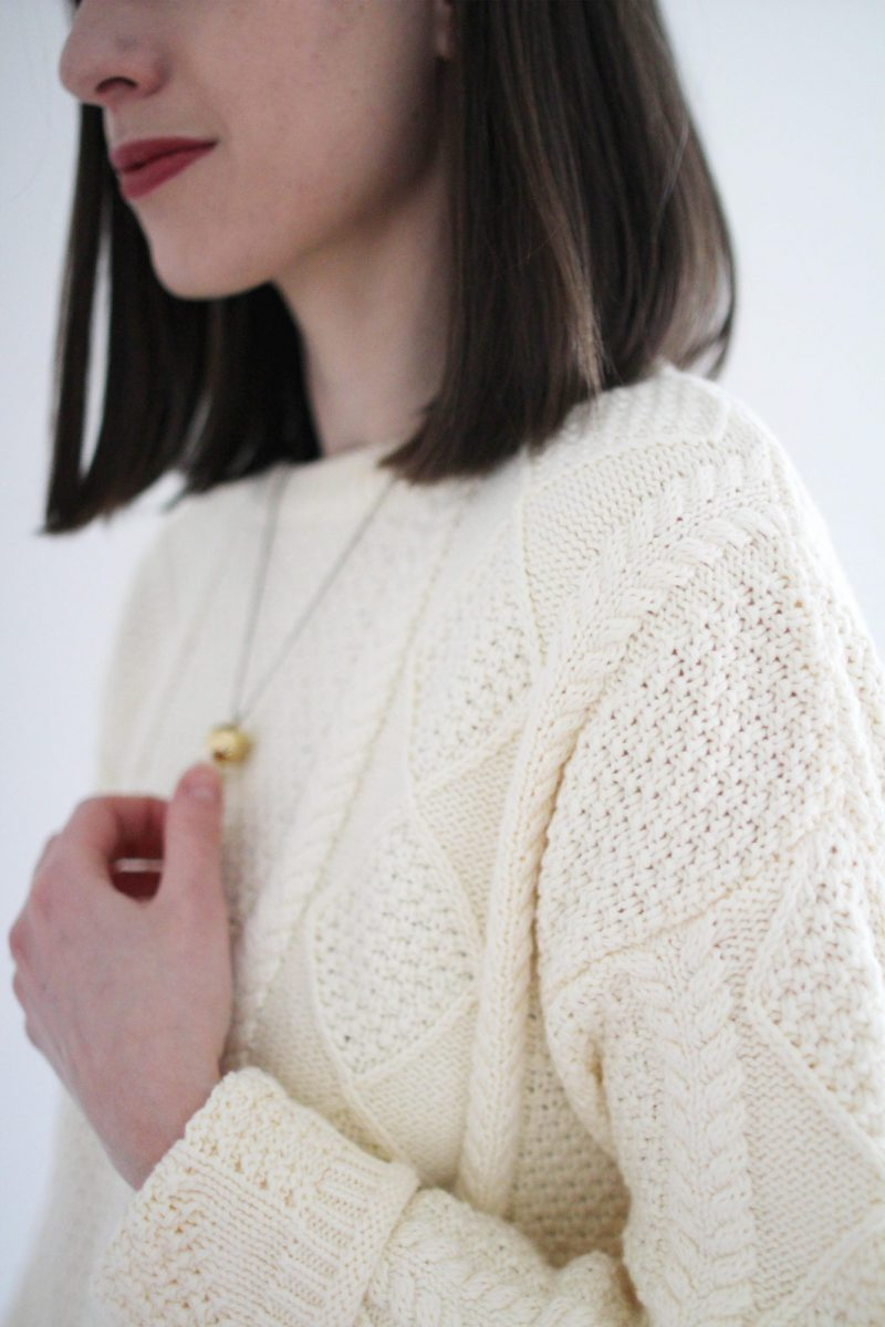 Style Bee - 1 Formula - 3 Ways - Fisher Knit Sweater
