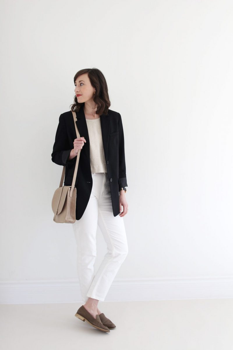 Style Bee - How I'm Styling White Denim For Spring